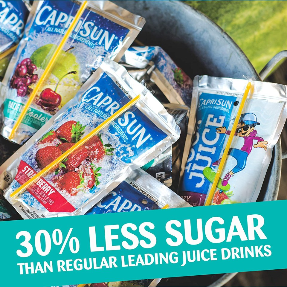 Capri Sun Juice Pouches 30-Pack SOLO  $6.48