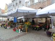 Olsztyn old town.