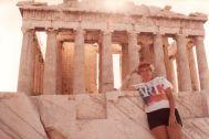 Wanda at the Parthenon
