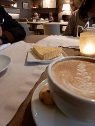 Coffee and cake at Szeroka 9.