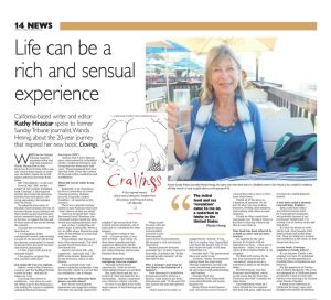 Author interview: Sunday Tribune.