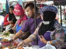 Kamala Market food stall.