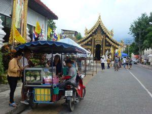 Sunday Walking Market Chiangmai.