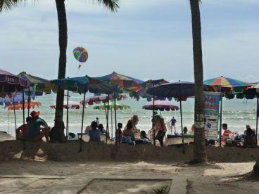 Patong beach scene, Phuket, Thailand.