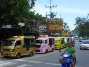 Similar Patong beach street scene.