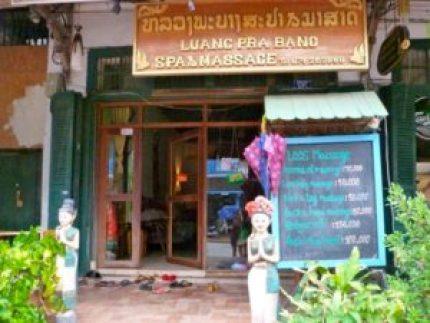 Luang Prabang massage.