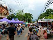 Early at the Chiangmai Sunday Walking Market.