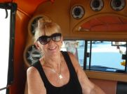 Tuc-tuc to Patong with Kerrie.