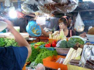 Bangrak fresh food market Koh Samui