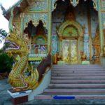 Temple Chiang Khong, Thailand.