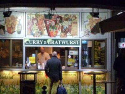Currywurst kiosk, Berlin