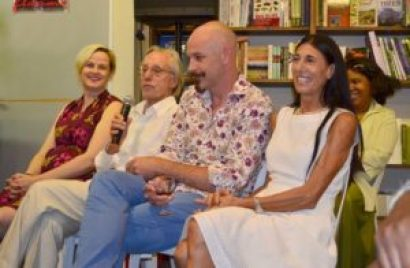 Angela Shaw, Louis van Loon, Paul Atkinson, Chrisi van Loon.