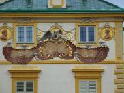 A detail at Wilanów Palace, Warsaw.