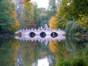 Łazienki Park Warsaw