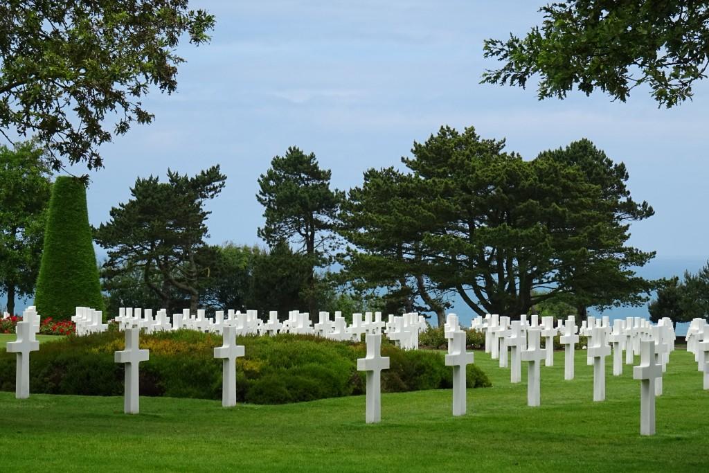 Amerikaanse begraafplaats Colleville