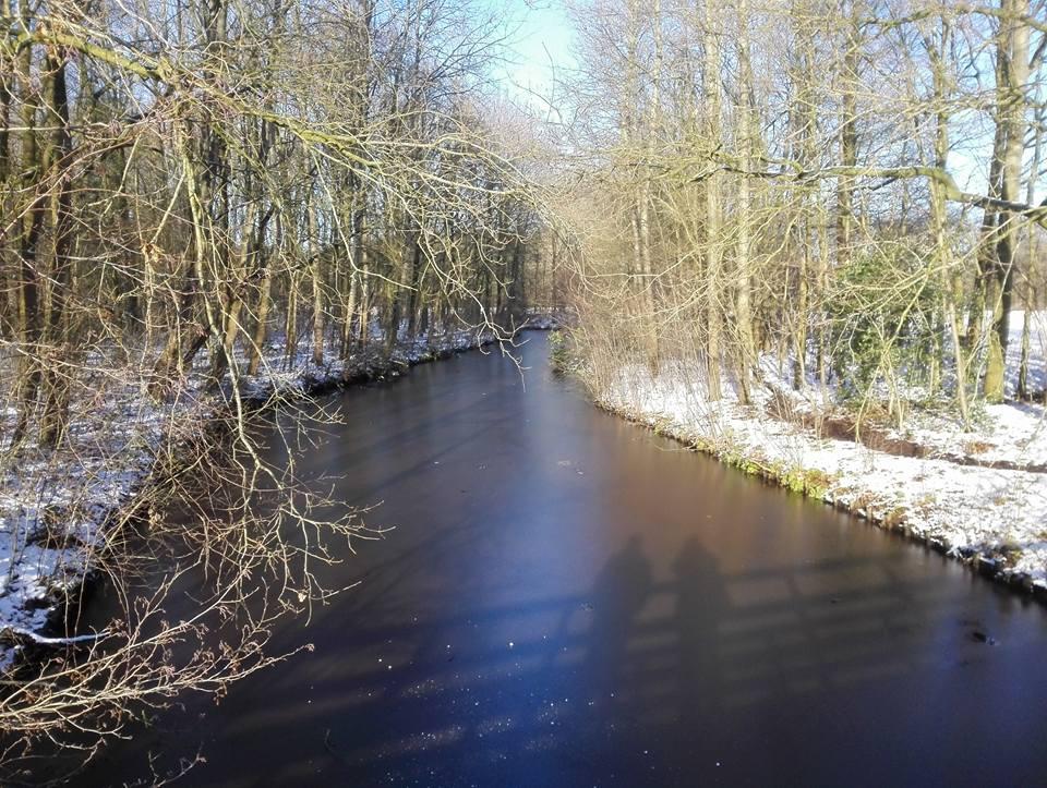 Winterwandeling in Borgerswold in Veendam