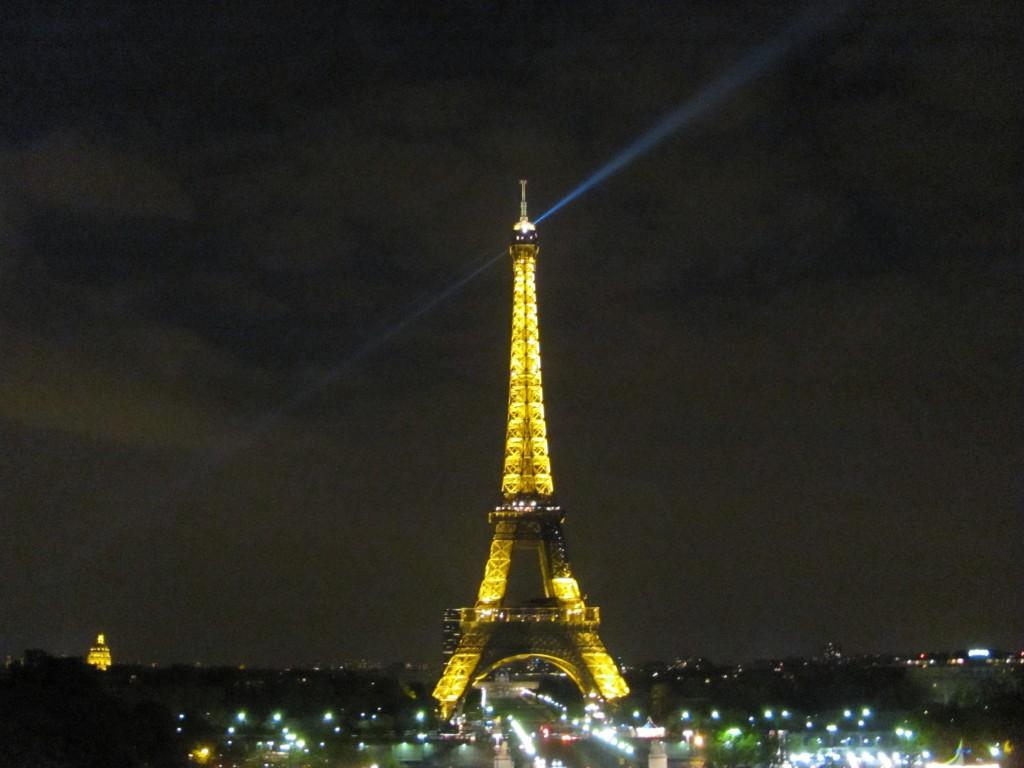 Eiffeltoren, plekken