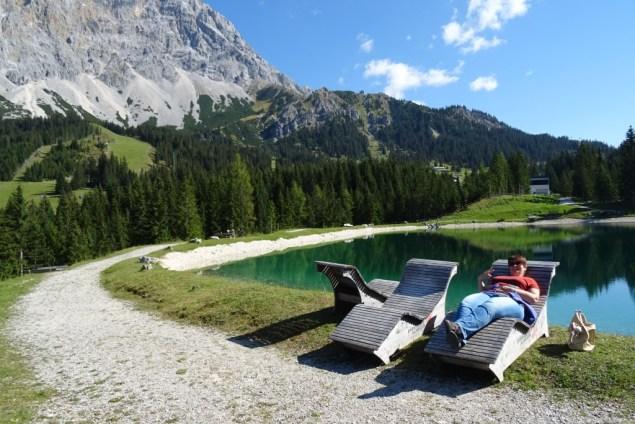 Ehrwalder Almsee 2016 Tirol Oostenrijk
