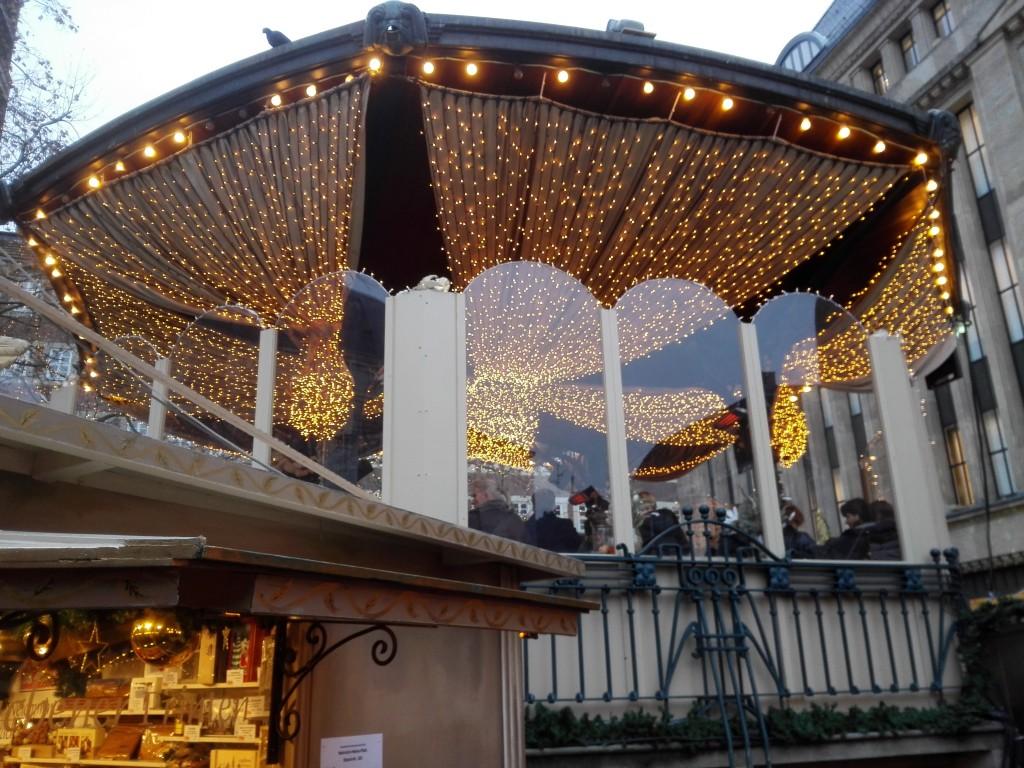 Heinrich-Heine Platz Düsseldorf kerstmarkt
