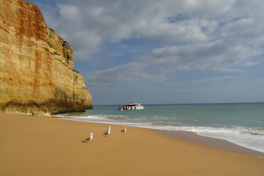 Praia da Benagil stranden