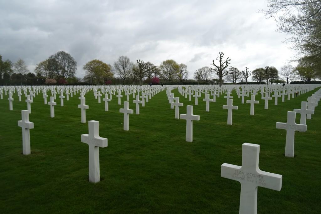 Amerikaanse begraafplaats Margraten Zuid-Limburg