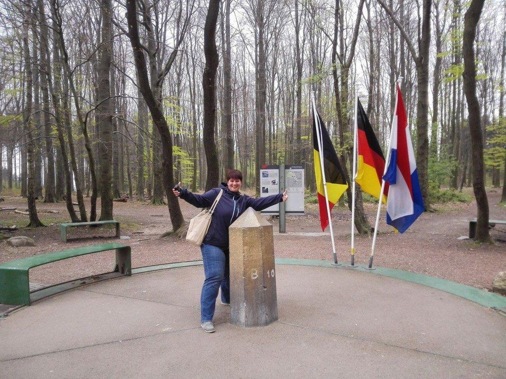 Drielandenpunt Vaals Nederland