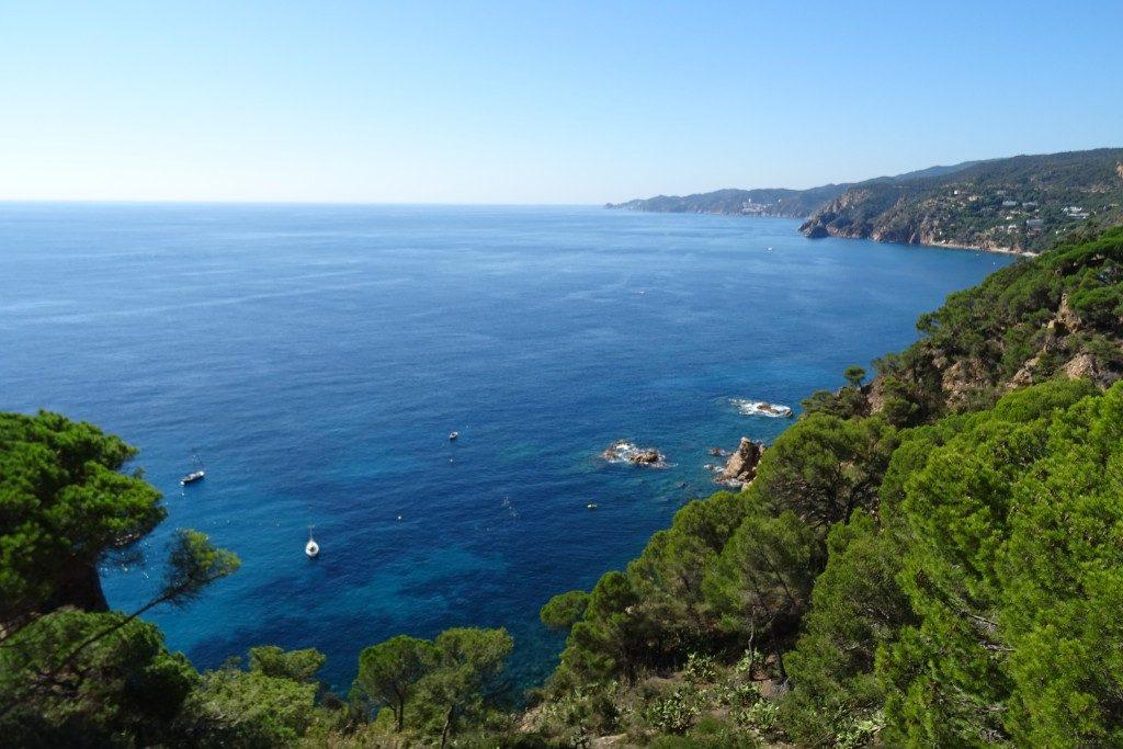 Sant Elm kustroute Costa Brava Spanje