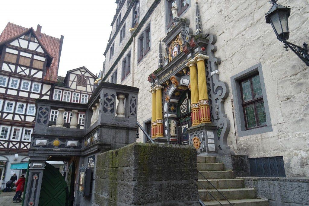 Rathaus Hannover Münden Duitsland