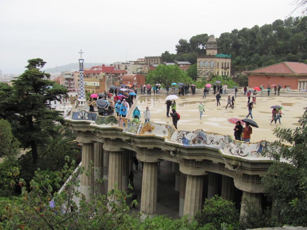 Parc Guell Barcelona Spanje