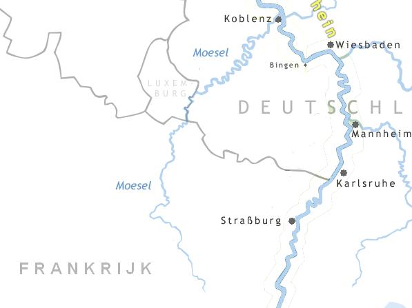Locatie Moezel