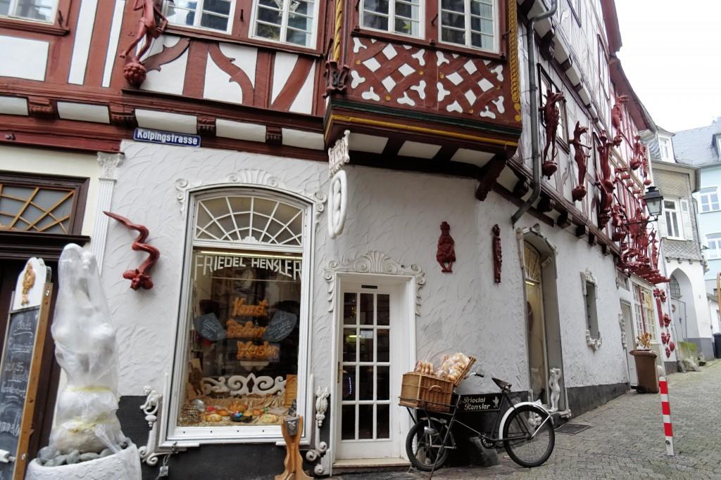 Huis met Zeven Zonden Limburg an der Lahn Duitsland