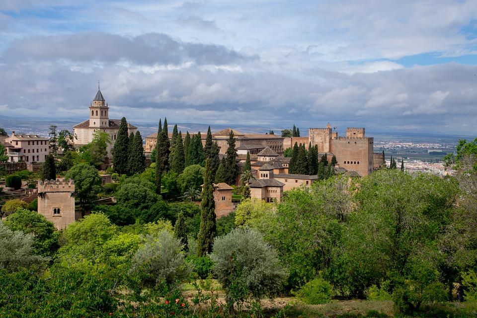 Alhambra Andalusië Spanje