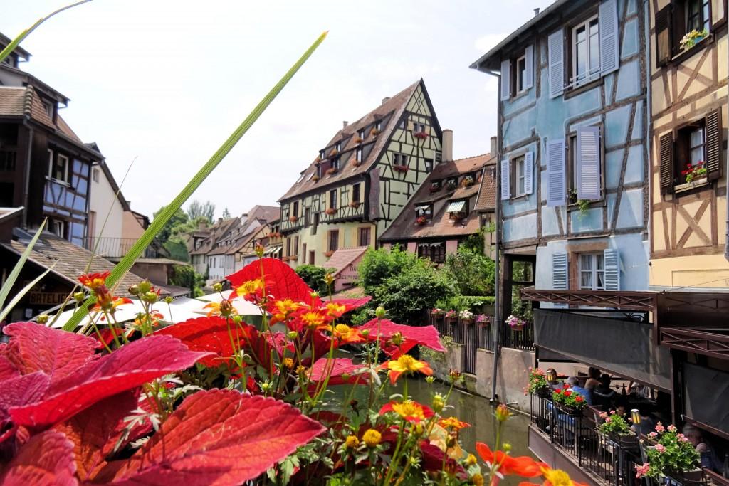 Colmar Elzas Vogezen Frankrijk
