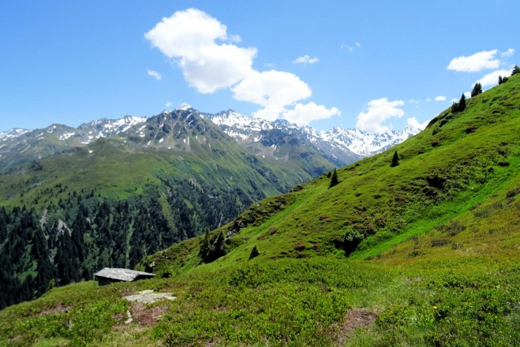 Montafon Vorarlberg Oostenrijk