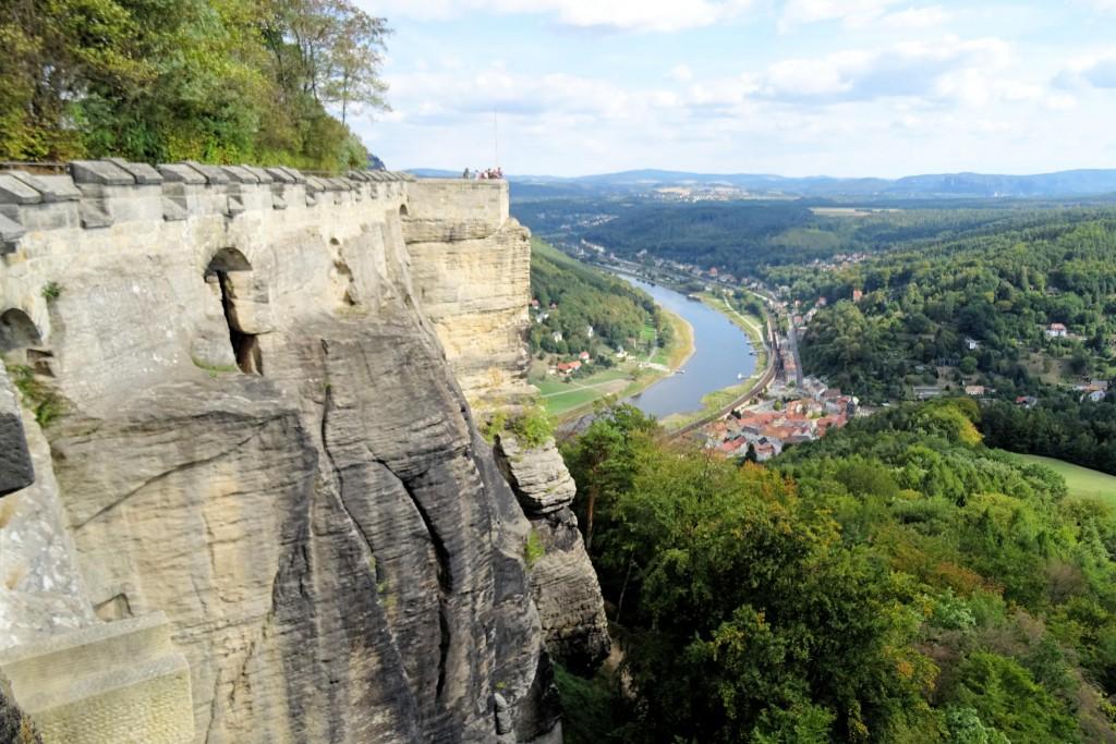 Konigstein Saksische Schweiz Duitsland