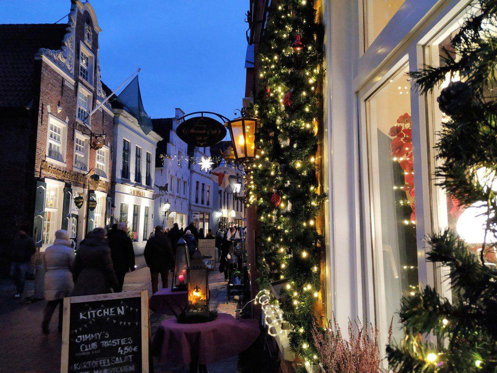 Leer altstad kerstmarkt