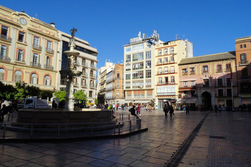 Plaza de la Constitution Malaga Spanje