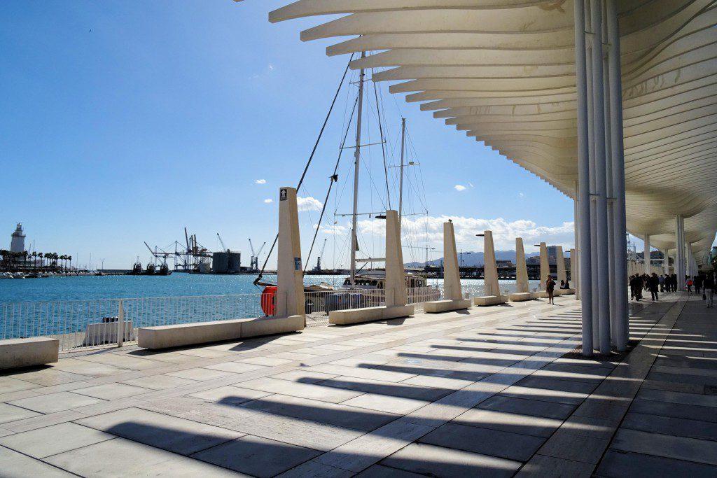 Haven Malaga Coste del Sol Spanje