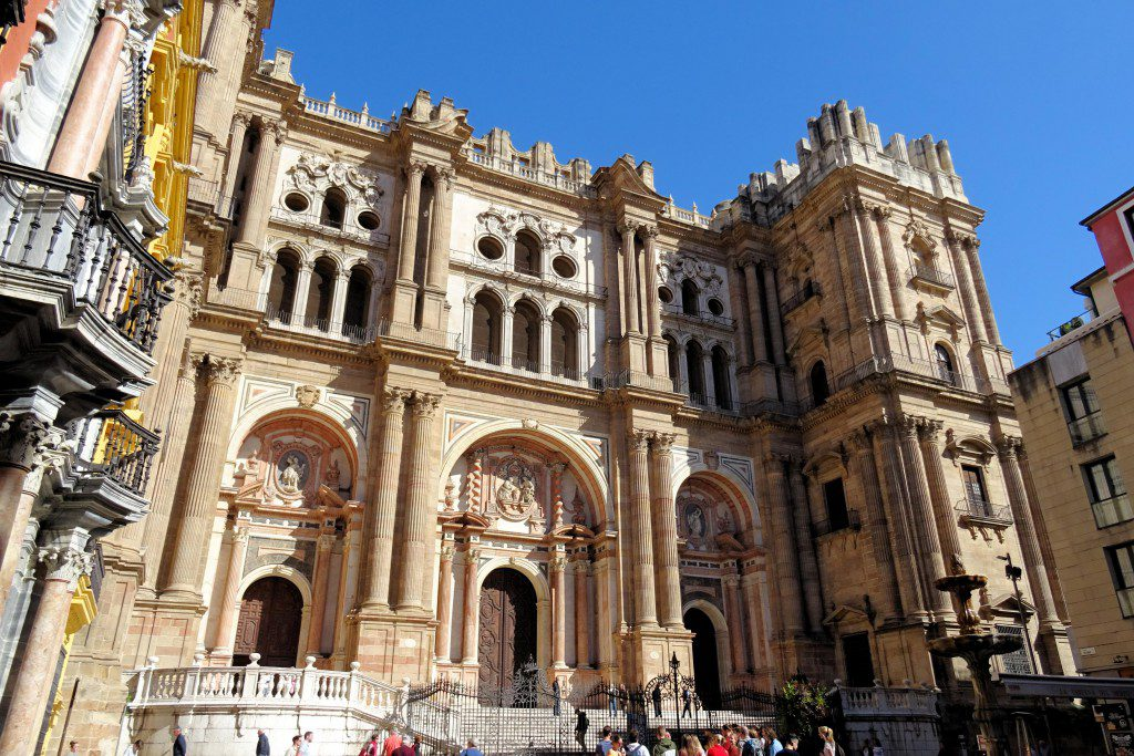 kathedraal Malaga Coste del Sol Spanje