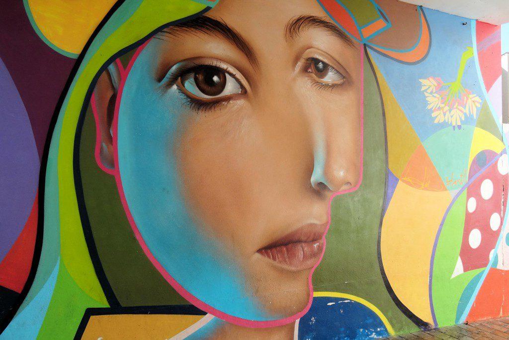 street art Malaga Spanje