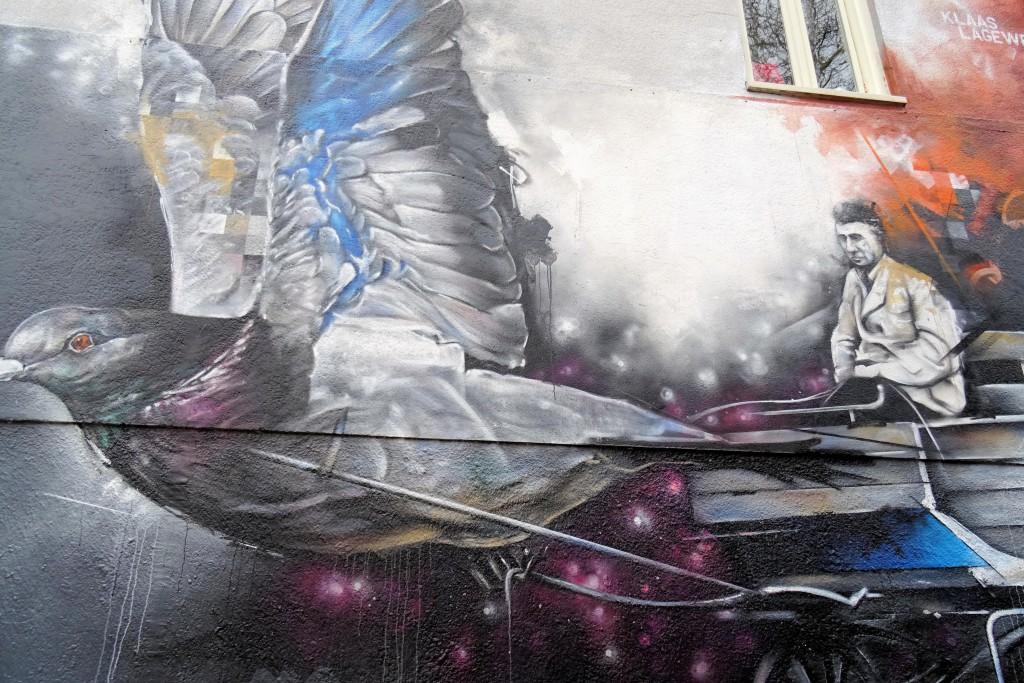 Street art Klaas Lageweg Groningen