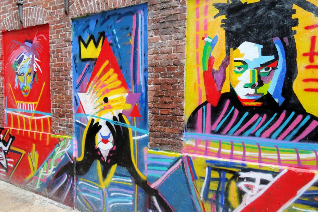 Street art Papengang Groningen