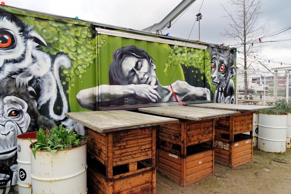 street art Ebbingekwariter Groningen