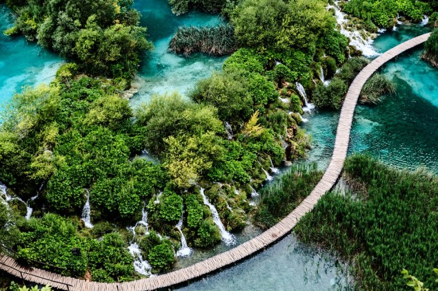Plitivici Meren Dalmatië