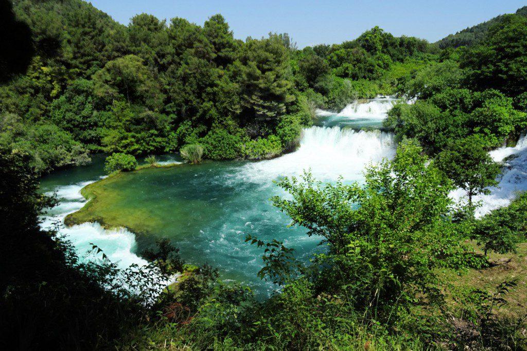 Krka Nationaal Park Dalmatië