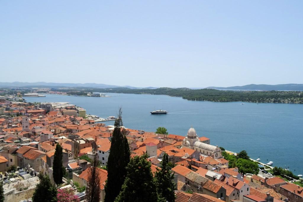 Sibenik Dalamtië Kroatië