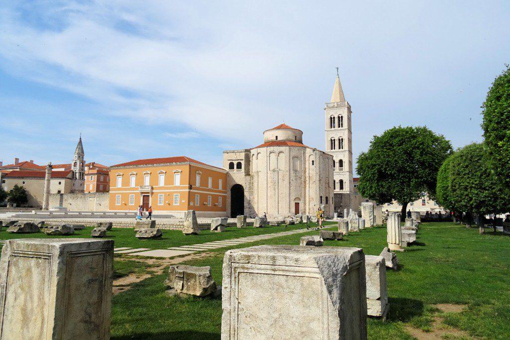 Romeins Forum Zadar