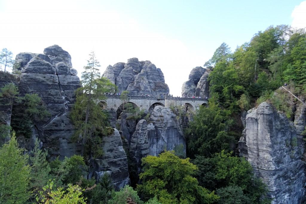 Bastei Saksische Schweiz Duitsland