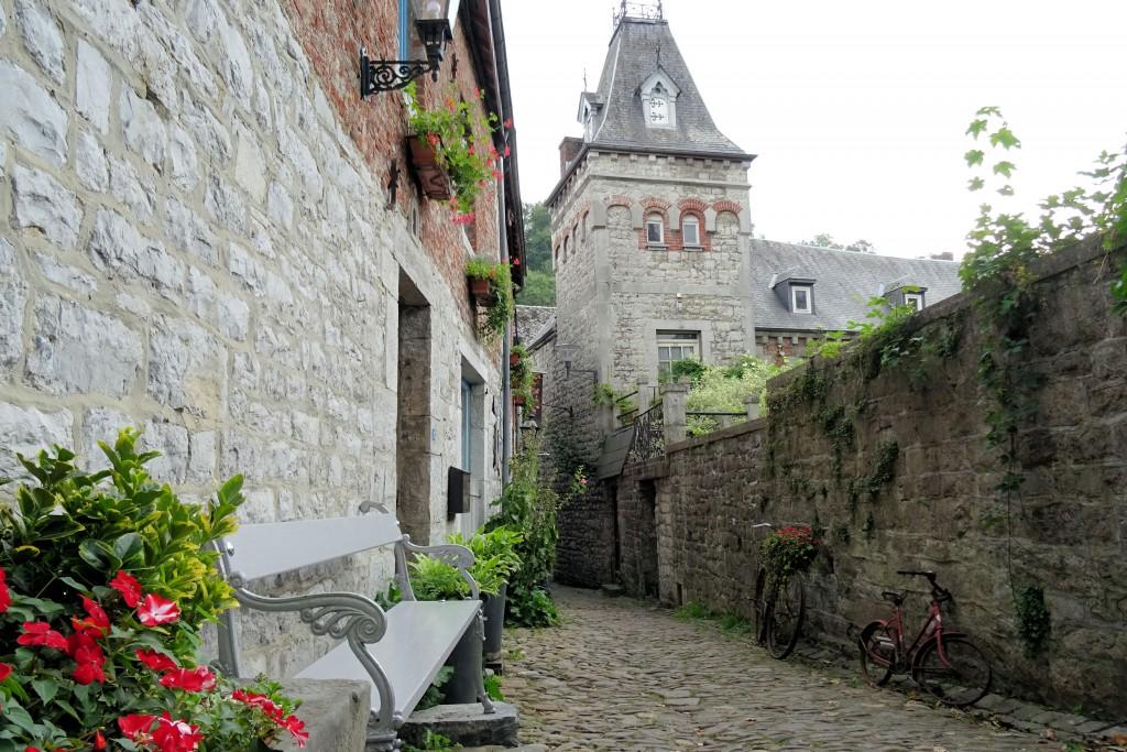 Middeleeuws stadje Ardennen