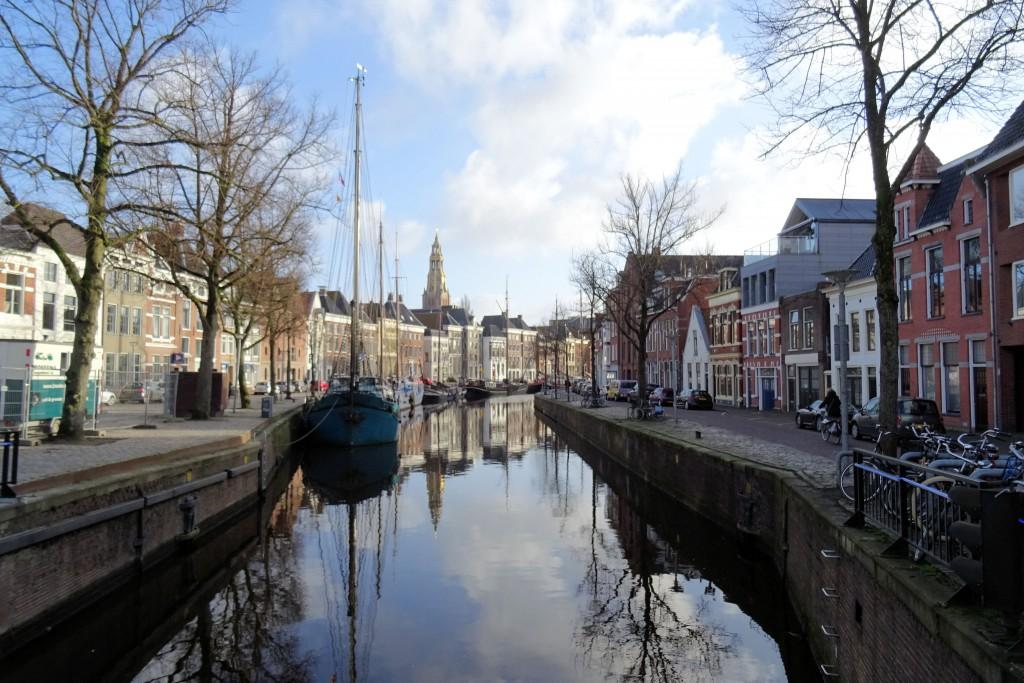 Noorderhaven Groningen Nederland